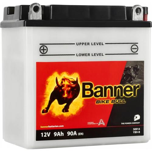 Banner Bike Bull 12V 9Ah 90A