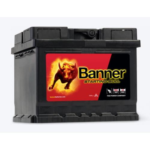 Banner Starting Bull 12V 55Ah 450A jobb+