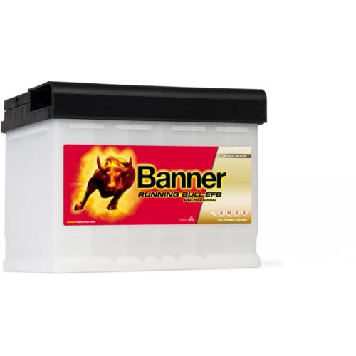Banner Running Bull EFB Pro 12V 65Ah 640A jobb+