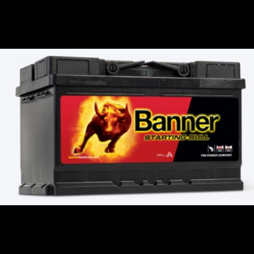 Banner Starting Bull 12V 72Ah 650A jobb+