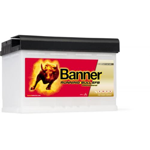 Banner Running Bull EFB Pro 12V 75Ah 700A jobb+