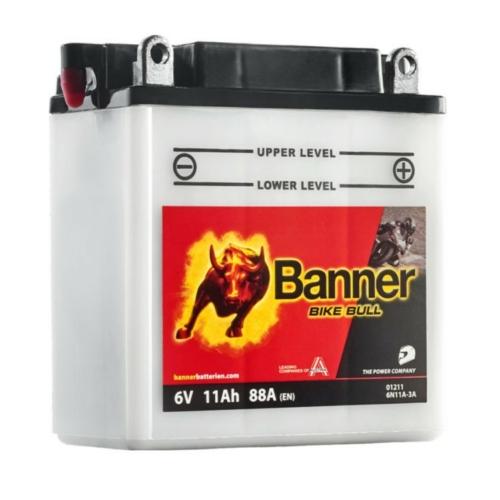Banner Bike Bull 6V 11Ah 88A