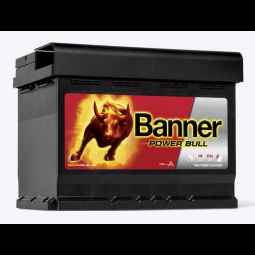 Banner Power Bull 12V 62Ah 510A jobb+