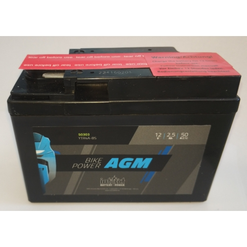 INTACT Bike-Power 12V 2,5Ah 50A AGM