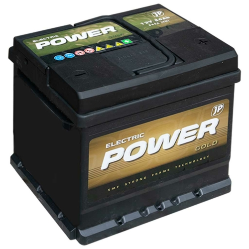 Electric Power  Gold 12V 56Ah 540A jobb+