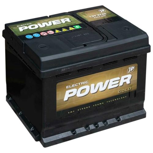 Electric Power  Gold 12V 67Ah 640A jobb+
