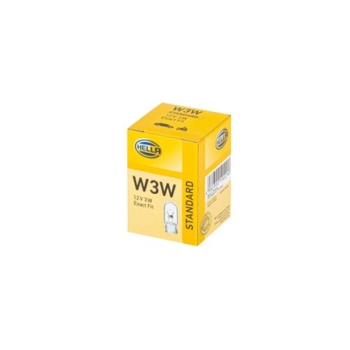 HELLA W3W 12V 3W izzó
