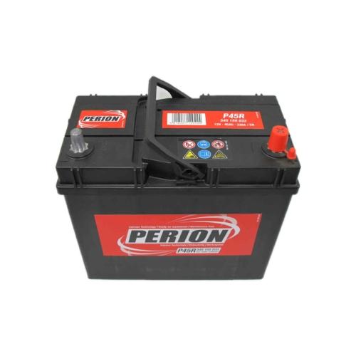 PERION Akkumulátor 12V 45Ah P45R 400A jobb+
